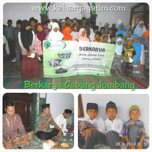 Santunan Berkarya Jombang Sept 14