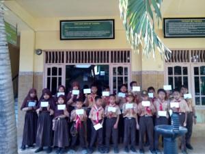 Santunan wilayah cabang Surabaya Kamis,27 September 2018