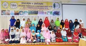 Santunan anak yatim cabang Palembang