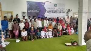 Dokumentasi kegiatan santunan berkarya di pondok pesantren ilmu al-quran Sukorejo