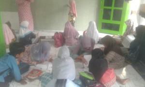 Dokumentasi kegiatan les dan santunan berkarya wilayah Binor