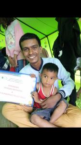Dokumentasi penyaluran santunan dan bantuan kepada korban gempa&tsunami Palu&Donggala