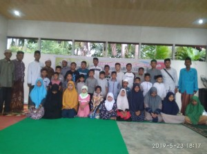 Foto dokumentasi santunan berkarya cabang Aceh