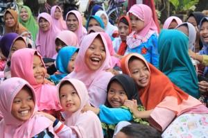 Foto deskripsi acara bukber dari kawan-kawan Komunitas Volunteer Jombang