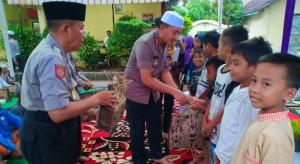 Foto dokumentasi kegiatan santunan anak yatim&dhuafa-safari ramadhan Kapolres Probolinggo, AKBP Eddwi Kurniyanto SH. SIK.
