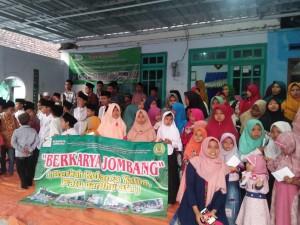 Dokumentasi santunan anak yatim yayasan berkarya cabang Jombang