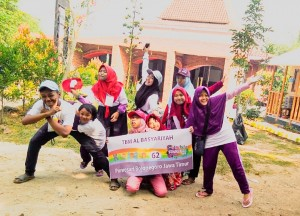Kegiatan adik-adik yatim yayasan berkarya cabang Bogor