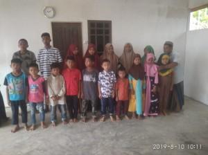 Foto dokkumentasi santunan wilayah Aceh