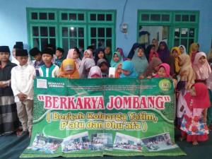 Foto dokumentasi santu nan yayasan Berkarya Cabang Jombang