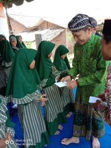 Foto dokumentasi santunan wilayah Kediri