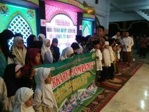 Foto dokumentasi santunan Jombang