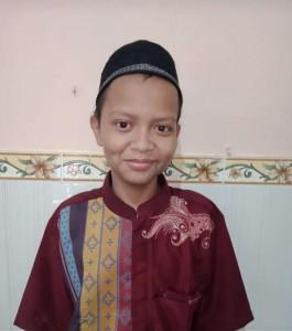 Foto Almarhum Adik Febri